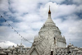 Hsinbyume Paya roof in Mingun; Myanmar — Stock Photo