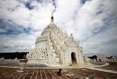 Hsinbyume 帕亚的 Mingun;缅甸 — 图库照片