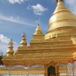 Golden stupa of Kuthodaw Paya in Mandalay - Foto de Stock