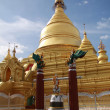 Kuthodaw Paya in Mandalay, Myanmar — Stock Photo