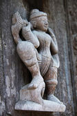 Escultura de madera de myanmar — Foto de Stock