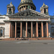 Stock Photo: St Isaak Cathedral in Peterburg
