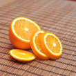Fresh orange - Foto Stock