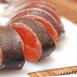 Sliced trout - Foto Stock