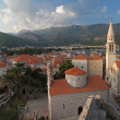 Stock Photo: Cityscape of Budva