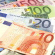 Euro banknotes — Stock Photo #7971327