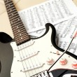 Electric guitar — Stock Photo #7971420
