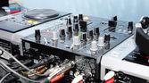 DJ panel — Stock Photo