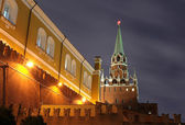 Moscow Kremlin tower — Stock Photo