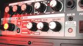 Amplificador de guitarra elétrica — Foto Stock