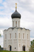 "Church ""Pokrova na nerli"". Bogolubovo. Russia — Stock Photo"