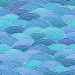 Royalty-Free Stock : Seamless background of curled abstract waves
