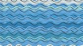 Sem costura fundo das ondas azuis — Vetor de Stock