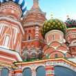 St Basil temple in Moscow — Stock Photo #8231862