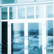 Glass door — Stock Photo #8232031