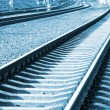 Railroad in perspective — Stock Photo #8232109