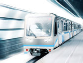 Modern speed train — Stock Photo