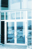 Glass door — Stock Photo