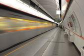 τρένο μετρό — Φωτογραφία Αρχείου