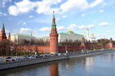 Moscow kremlin. — Stock Photo