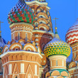 St. Basil's Cathedral on Red square, Moscow, Russia — Стоковая фотография