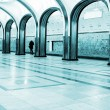 Metro station interior — Stock Photo