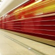Moving metro train — Stock Photo #8462865