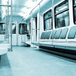 Modern train interior — Stock Photo #8463227