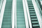 Verschieben von Rolltreppen — Stockfoto
