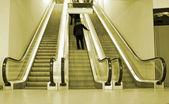 Flytta rulltrappor — Stockfoto