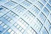 Glass windows of skyscraper — Stock Photo