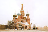 St. Basil Cathedral on Red square, Moscow, Russia — Stock Photo