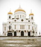 The Cathedral of Christ the Savior in Russia — Stock Photo