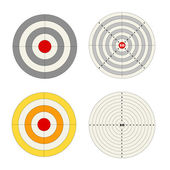 Targets collection — Stock Vector