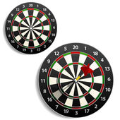 Darts set — Stock Vector