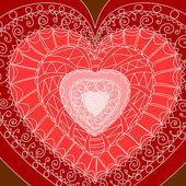 Set of hearts. — Stock Vector