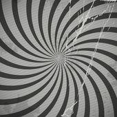 Vintage spiral grey background with blots — Stock Vector