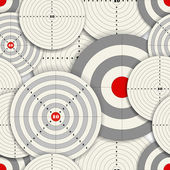 Seamless background of Targets — Vecteur