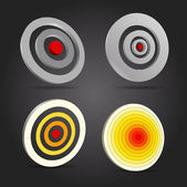Vector targets collections — Stock Vector