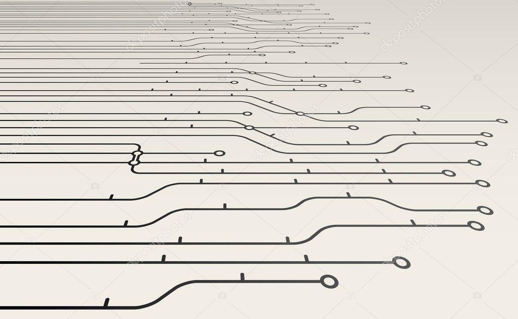 Абстрактные схемы метро фон