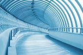 The long and winding corridor — Stock Photo
