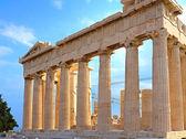 Parthenon in akropolis in griechenland — Stockfoto