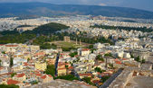 Cityscape of Athens. View from Acropolis. Greece — Stock Photo