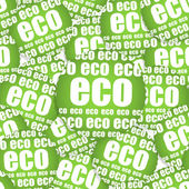 ECO paper sticker, Seamless texture — Stock Vector