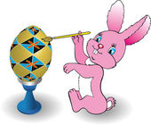 Easter Bunny — Stockvector