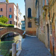 Small canal Venice - Stock Photo