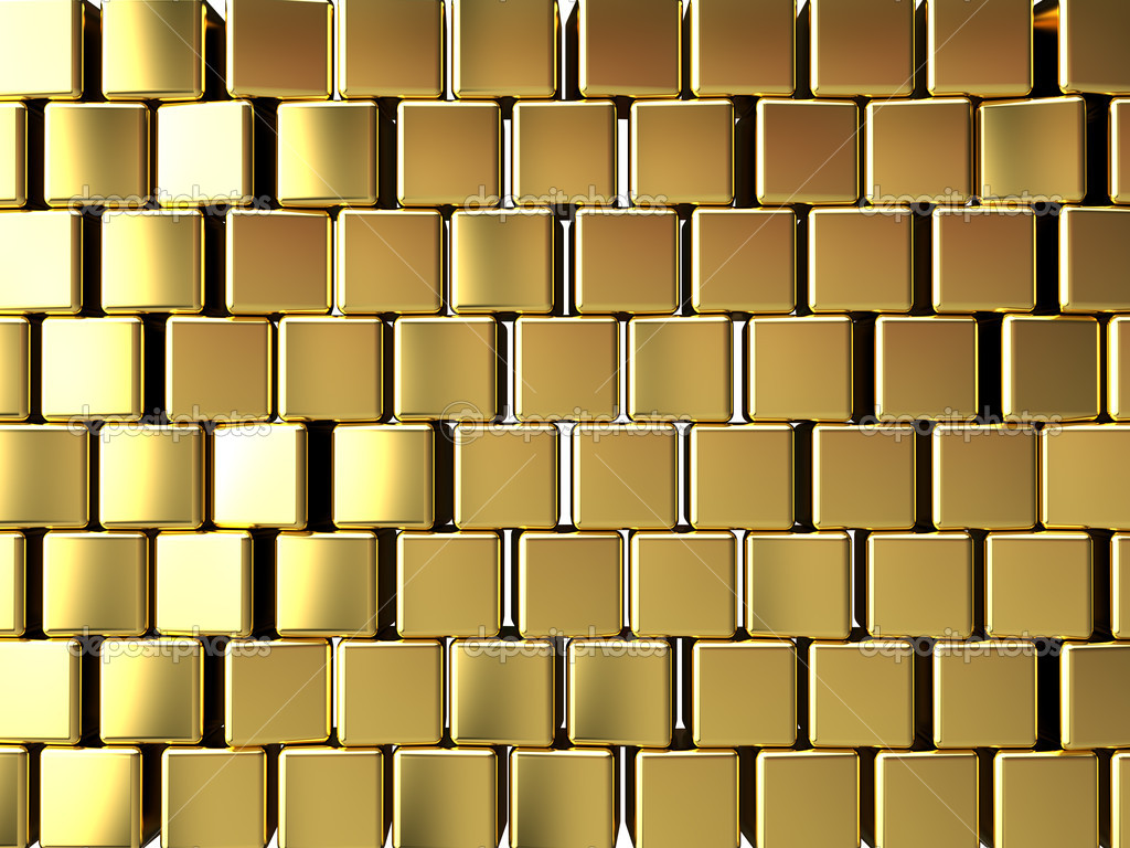 Abstract gold block background (can be used for printing or web)  Stock Photo #10165512