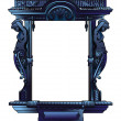 Abstract decorative frame — Stock Photo