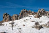 """Hills of Dimerdzhi in the winter"" — Stock Photo"