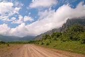 """Road to foothills Dimerdzhi, Crimea"" — Stock Photo"